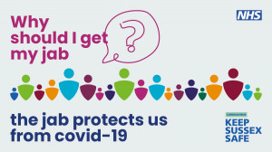 Patients aged 42 and over are now eligible for their Covid Vaccination